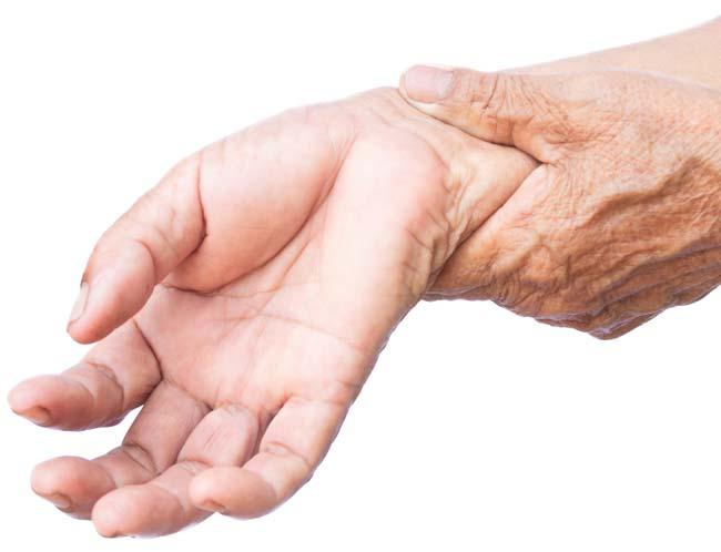 trockene Hände