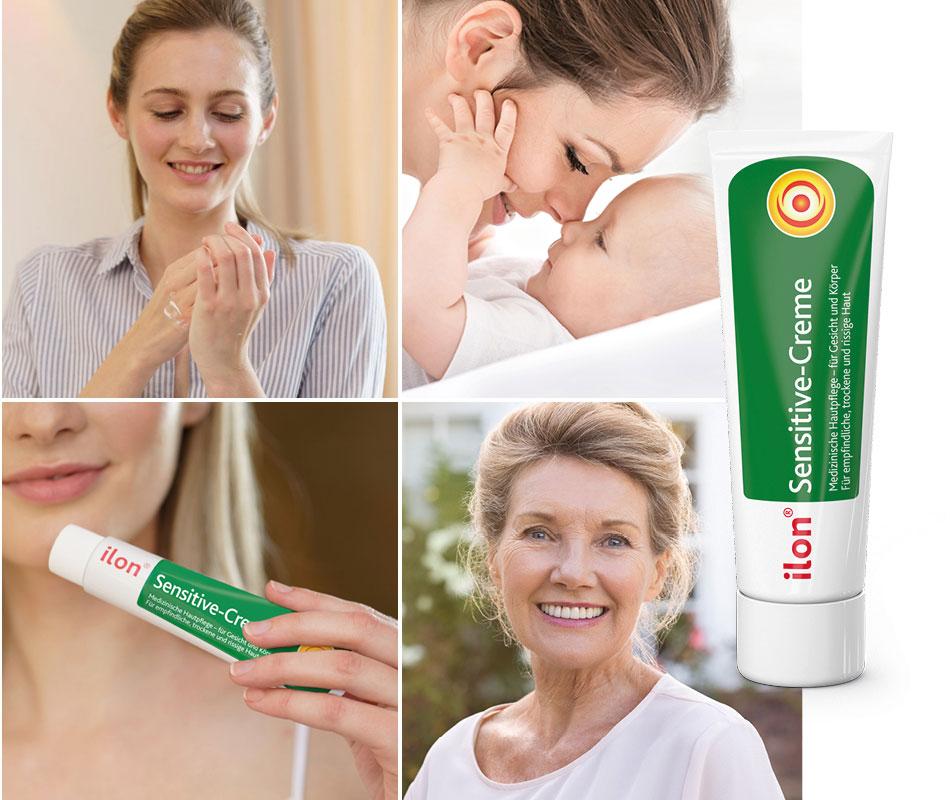 Natürliche Hautpflege für Gesicht, Hände und Körper