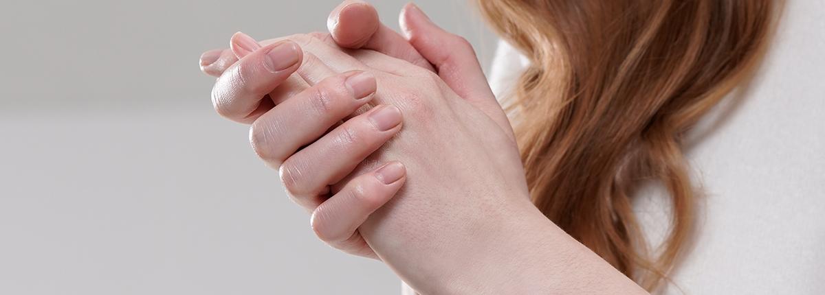 Die richtige Handpflege bei sehr trockenen Händen
